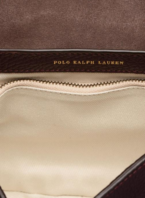 Borse Polo Ralph Lauren LENNOX BELT SADDLE Bordò immagine posteriore