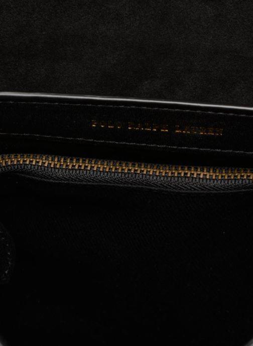 Handbags Polo Ralph Lauren LENNOX BELT SADDLE Black back view