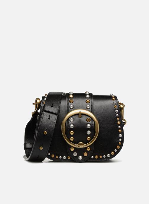 Sacs à main Polo Ralph Lauren LENNOX BELT SADDLE Noir vue détail/paire