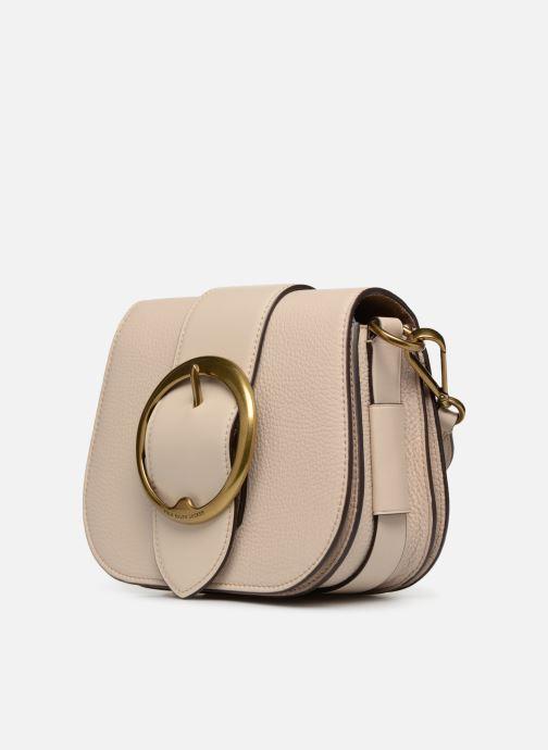 Bolsos de mano Polo Ralph Lauren LENNOX BELT SADDLE Beige vista del modelo