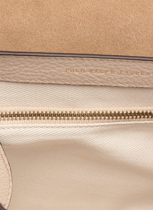 Handtassen Polo Ralph Lauren LENNOX BELT SADDLE Beige achterkant