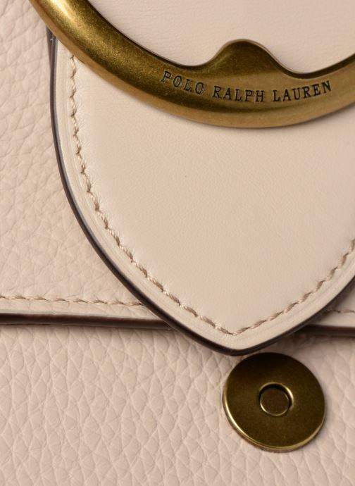 Bolsos de mano Polo Ralph Lauren LENNOX BELT SADDLE Beige vista lateral izquierda