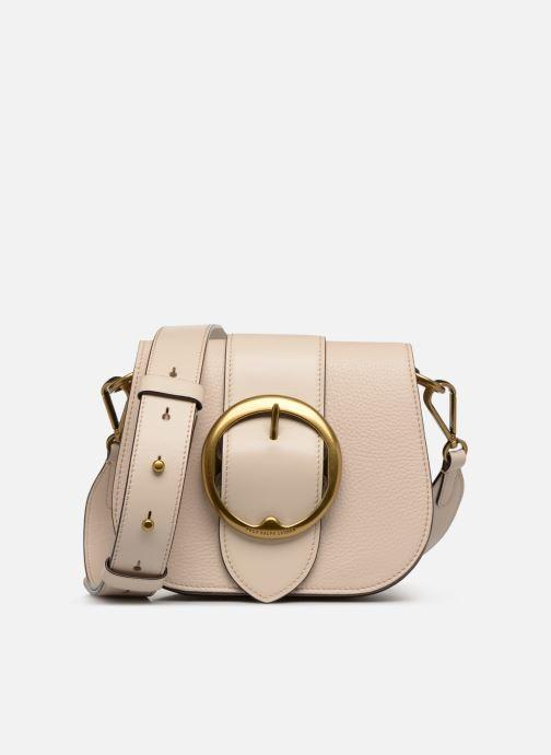 Bolsos de mano Polo Ralph Lauren LENNOX BELT SADDLE Beige vista de detalle / par
