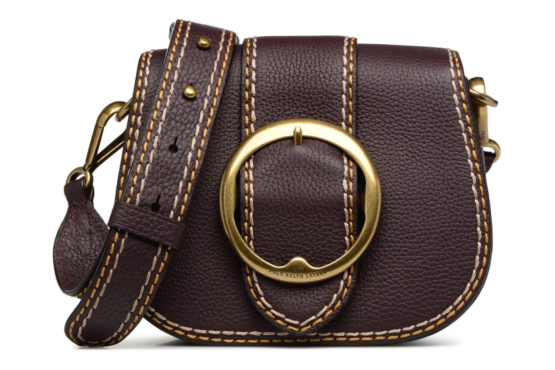 Sacs à main Polo Ralph Lauren LENNOX BELT SADDLE Bordeaux vue détail/paire