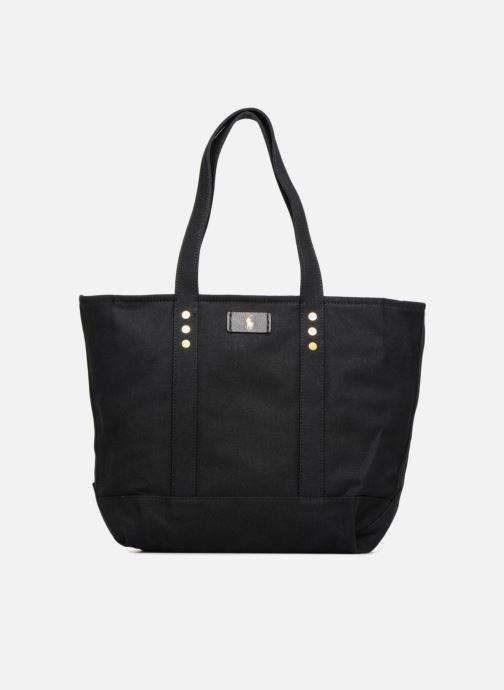 Sacs à main Polo Ralph Lauren CLASSIC CANVAS TOTE M Noir vue détail/paire