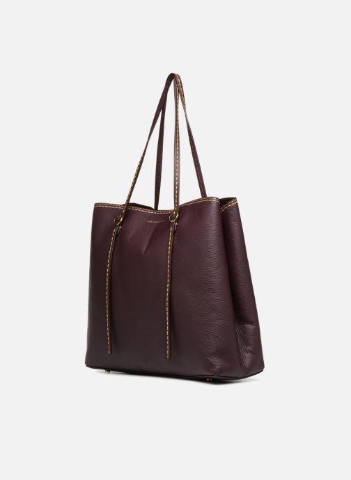Handtassen Polo Ralph Lauren LENNOX TOTE LARGE Bordeaux model