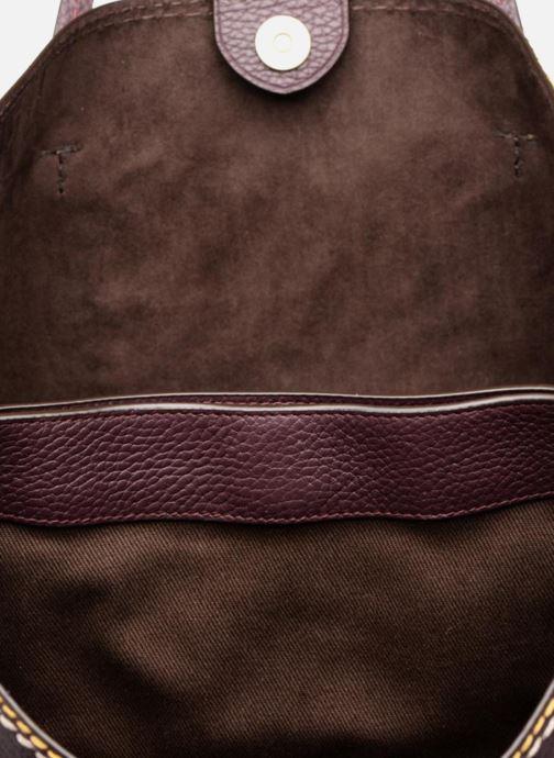 Sacs à main Polo Ralph Lauren LENNOX TOTE LARGE Bordeaux vue derrière