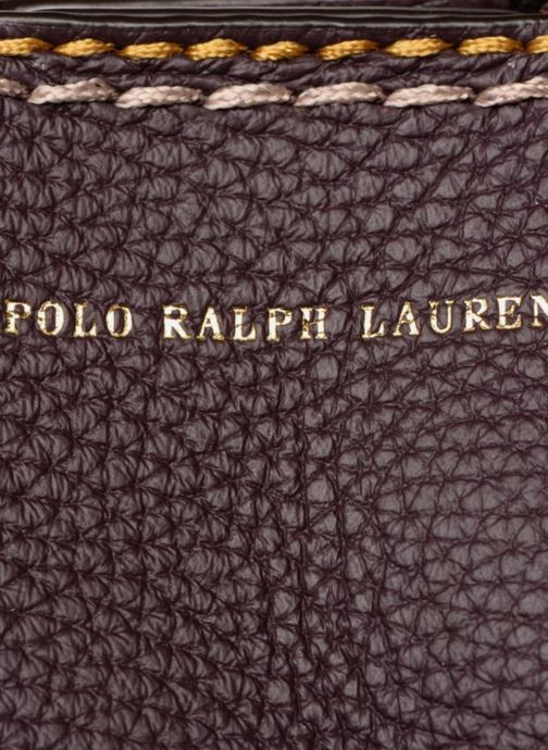 Handtassen Polo Ralph Lauren LENNOX TOTE LARGE Bordeaux links