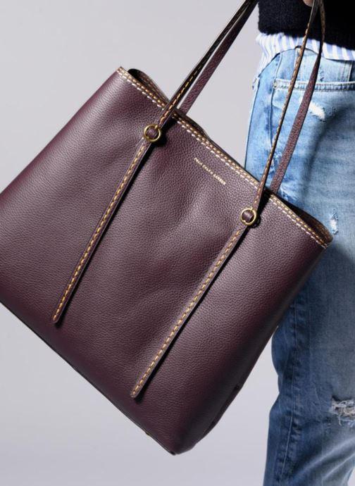 Handtassen Polo Ralph Lauren LENNOX TOTE LARGE Bordeaux onder