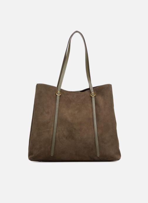 Handtaschen Polo Ralph Lauren LENNOX TOTE LARGE grün ansicht von vorne