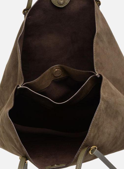 Sacs à main Polo Ralph Lauren LENNOX TOTE LARGE Vert vue derrière