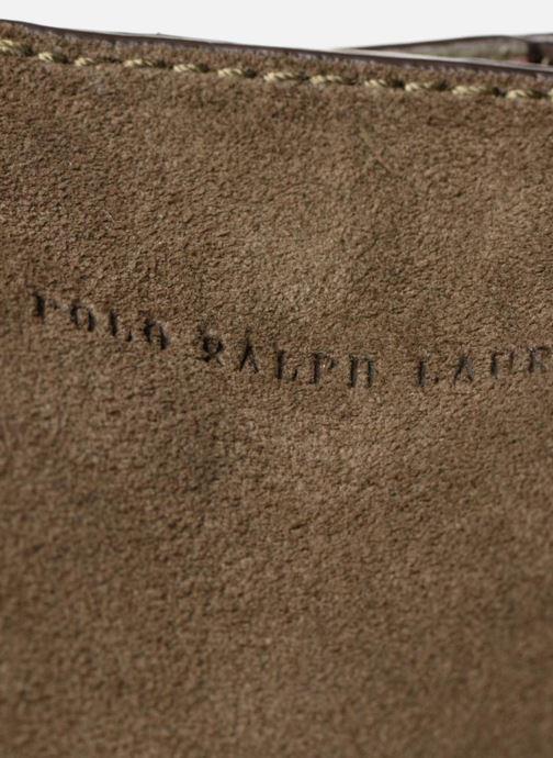 Handtaschen Polo Ralph Lauren LENNOX TOTE LARGE grün ansicht von links