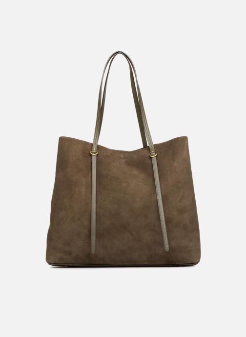 Handtaschen Polo Ralph Lauren LENNOX TOTE LARGE grün detaillierte ansicht/modell