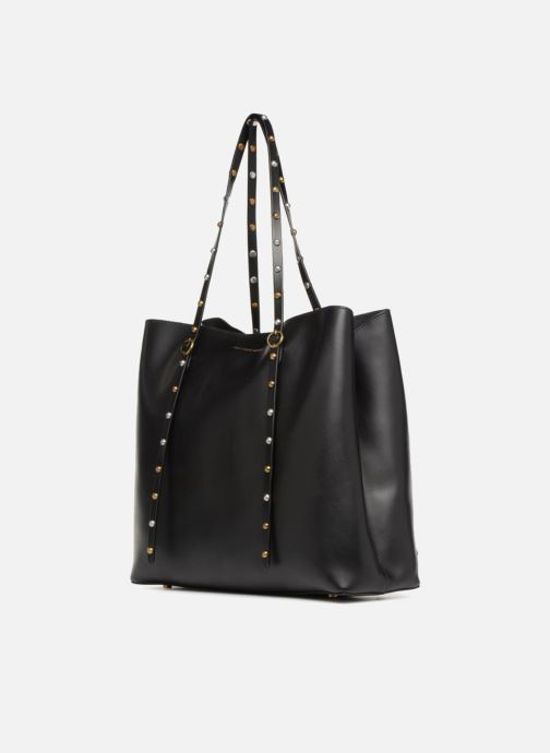 Handtassen Polo Ralph Lauren LENNOX TOTE LARGE Zwart model