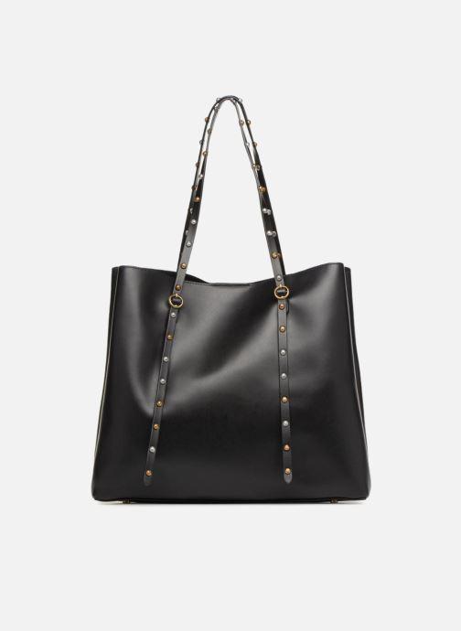 Handtassen Polo Ralph Lauren LENNOX TOTE LARGE Zwart voorkant