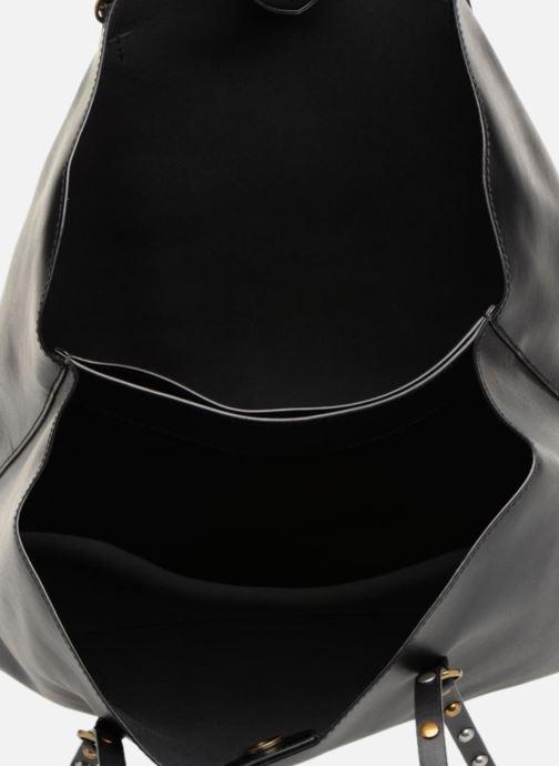Handtassen Polo Ralph Lauren LENNOX TOTE LARGE Zwart achterkant