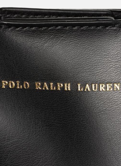 Sacs à main Polo Ralph Lauren LENNOX TOTE LARGE Noir vue gauche