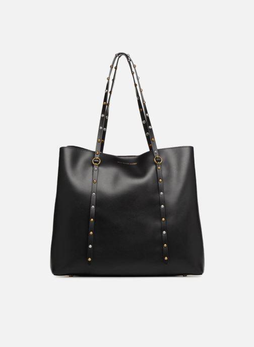 Handtassen Polo Ralph Lauren LENNOX TOTE LARGE Zwart detail