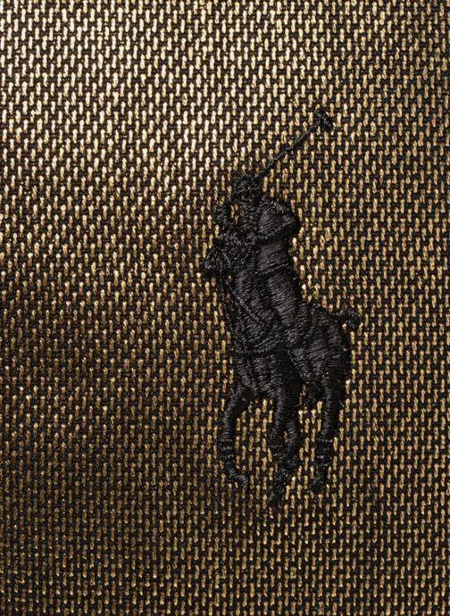 Sacs à main Polo Ralph Lauren PP TOTE CANVAS Or et bronze vue gauche
