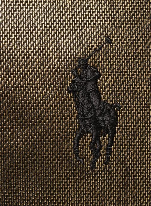 Sacs à main Polo Ralph Lauren PP TOTE CANVAS Or et bronze vue gauche