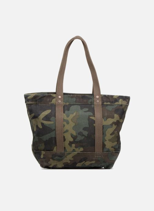 Sacs à main Polo Ralph Lauren PP TOTE CANVAS Vert vue face