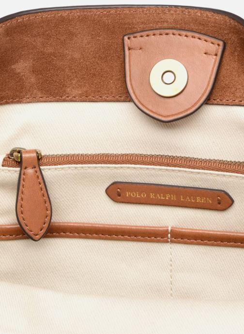 Sacs à main Polo Ralph Lauren SULLIVAN SMALL BUCKET Marron vue derrière
