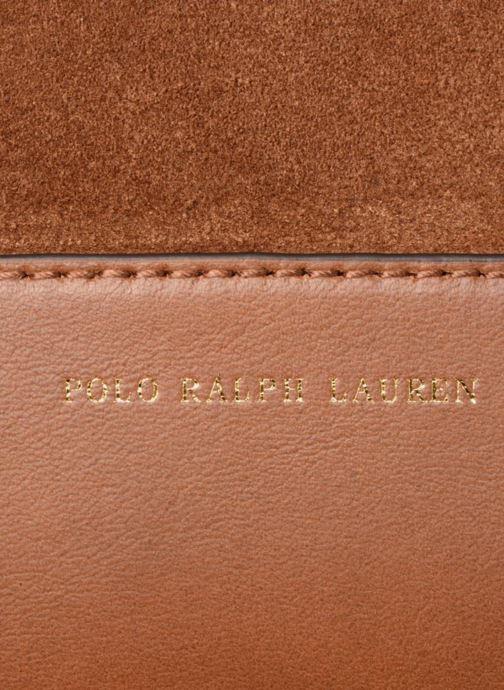 Sacs à main Polo Ralph Lauren SULLIVAN SMALL BUCKET Marron vue gauche