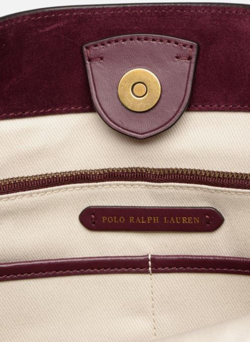 Borse Polo Ralph Lauren SULLIVAN SMALL BUCKET Bordò immagine posteriore