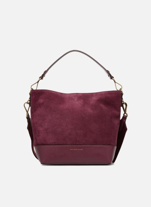 Sacs à main Polo Ralph Lauren SULLIVAN SMALL BUCKET Bordeaux vue détail/paire