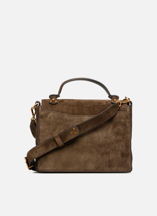 Handbags Polo Ralph Lauren MONTANA SMALL SCHOOLY Green front view