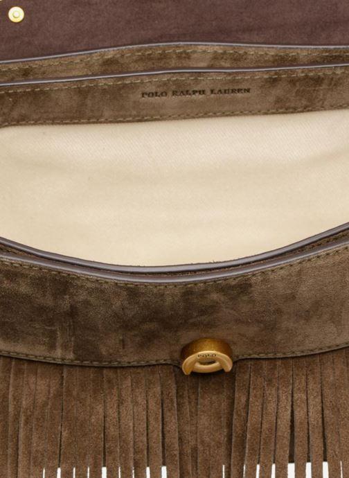 Handbags Polo Ralph Lauren MONTANA SMALL SCHOOLY Green back view