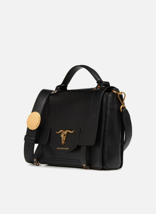 10e3cb24819 Polo Ralph Lauren MONTANA SMALL SCHOOLY (Black) - Handbags chez ...