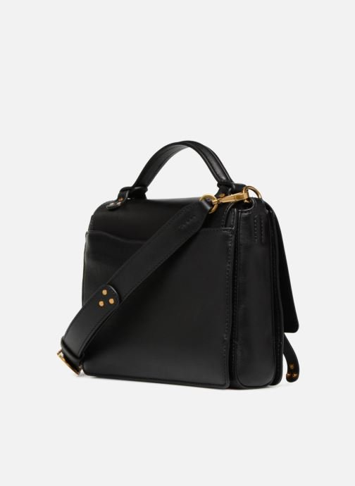 6d757cc0fe2 Handbags Polo Ralph Lauren MONTANA SMALL SCHOOLY Black view from the right