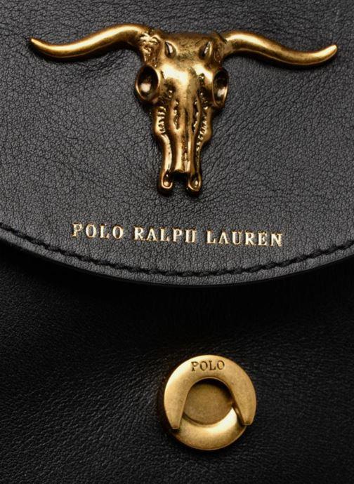 d10d40efa7b Handbags Polo Ralph Lauren MONTANA SMALL SCHOOLY Black view from the left
