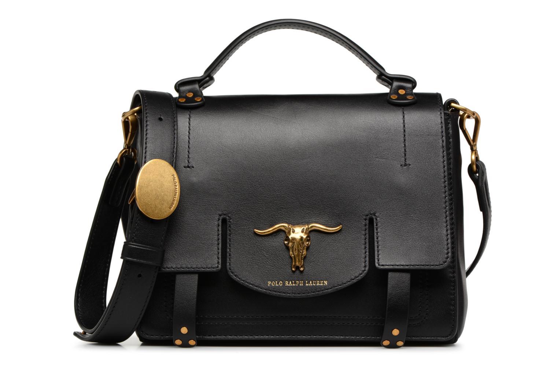 Sacs à main Polo Ralph Lauren MONTANA SMALL SCHOOLY Noir vue détail/paire