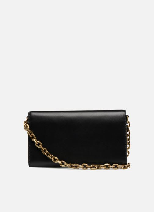 Sacs à main Polo Ralph Lauren CORE WALLET CHAIN CLUTCH Noir vue face
