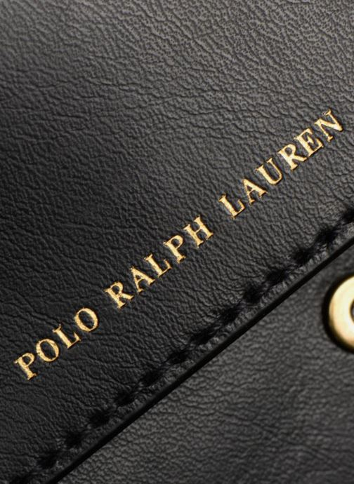 Handbags Polo Ralph Lauren CORE WALLET CHAIN CLUTCH Black view from the left
