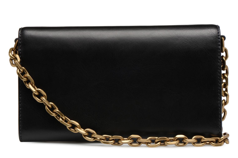 Sacs à main Polo Ralph Lauren CORE WALLET CHAIN CLUTCH Noir vue face
