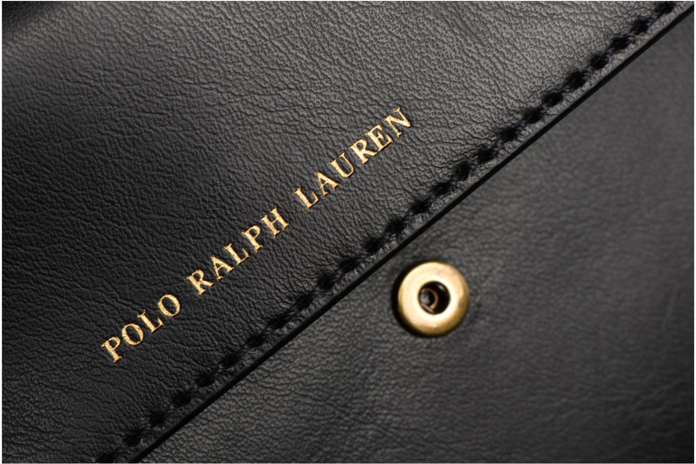 Sacs à main Polo Ralph Lauren CORE WALLET CHAIN CLUTCH Noir vue gauche