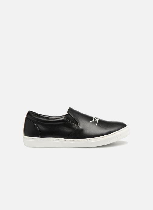 Sneakers KARL LAGERFELD Skool Team 3 Zwart achterkant