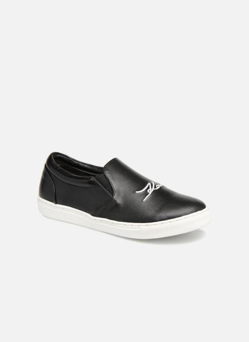 Sneakers KARL LAGERFELD Skool Team 3 Zwart detail