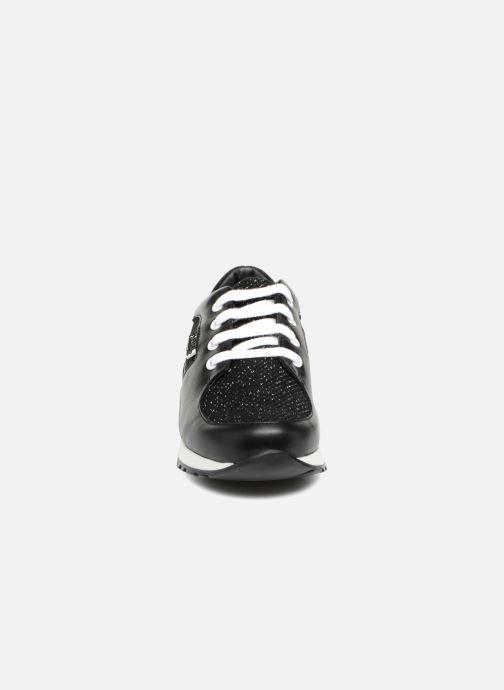 Baskets KARL LAGERFELD Karl Star Noir vue portées chaussures