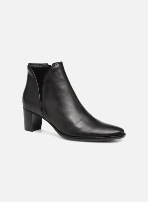 Ankle boots Georgia Rose Suzon Black detailed view/ Pair view