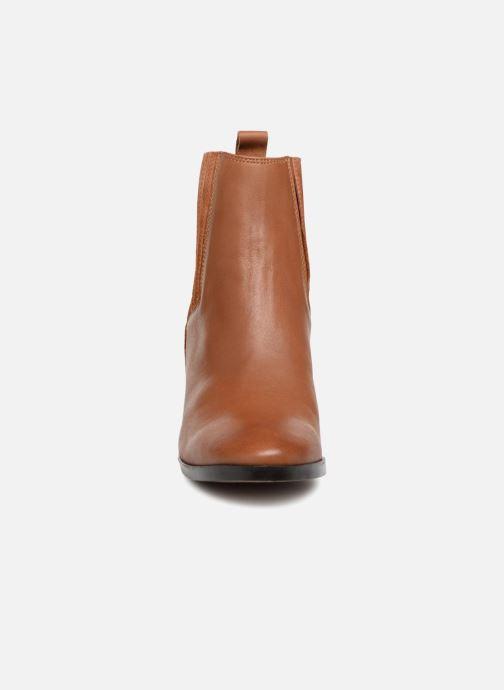 Bottines et boots Georgia Rose Sandrine Soft Marron vue portées chaussures