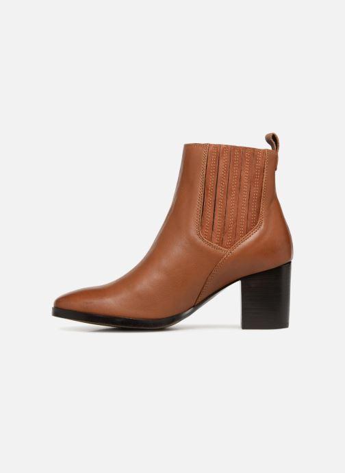 Bottines et boots Georgia Rose Sandrine Soft Marron vue face