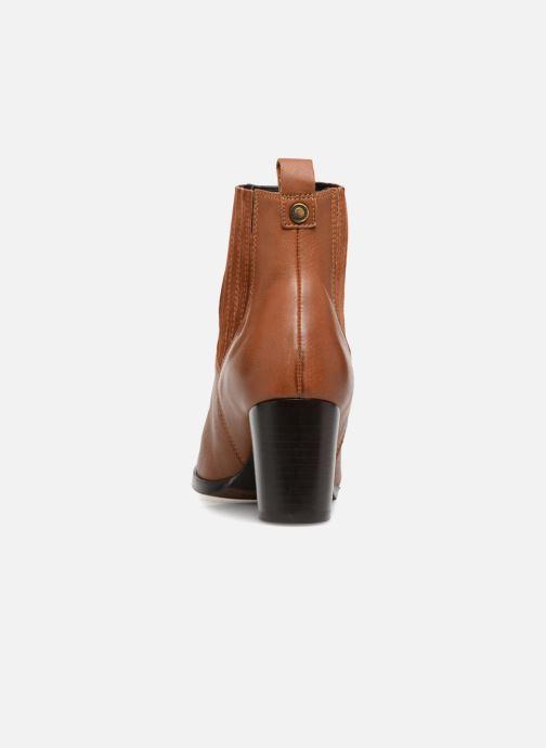 Bottines et boots Georgia Rose Sandrine Soft Marron vue droite