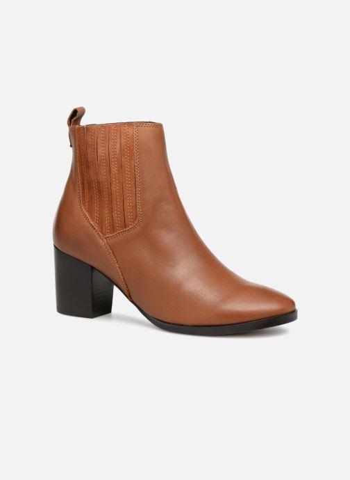Bottines et boots Georgia Rose Sandrine Soft Marron vue détail/paire