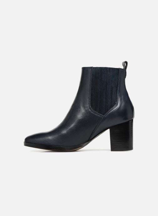 Bottines et boots Georgia Rose Sandrine Soft Bleu vue face