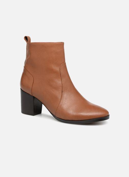 Bottines et boots Georgia Rose Sylvy Soft Marron vue détail/paire