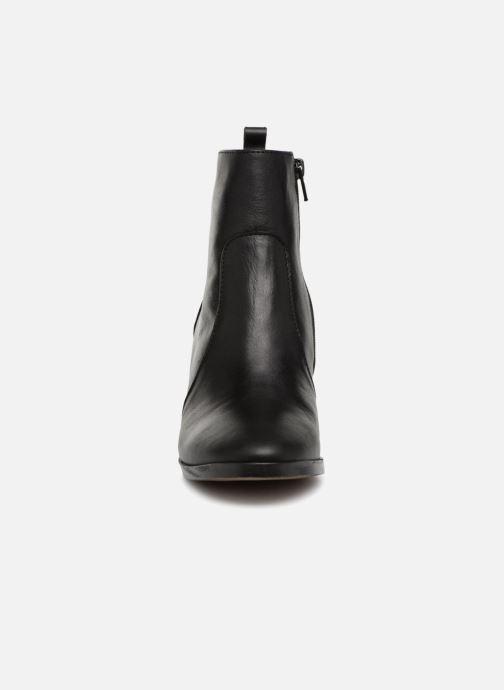 Bottines et boots Georgia Rose Sylvy Soft Noir vue portées chaussures